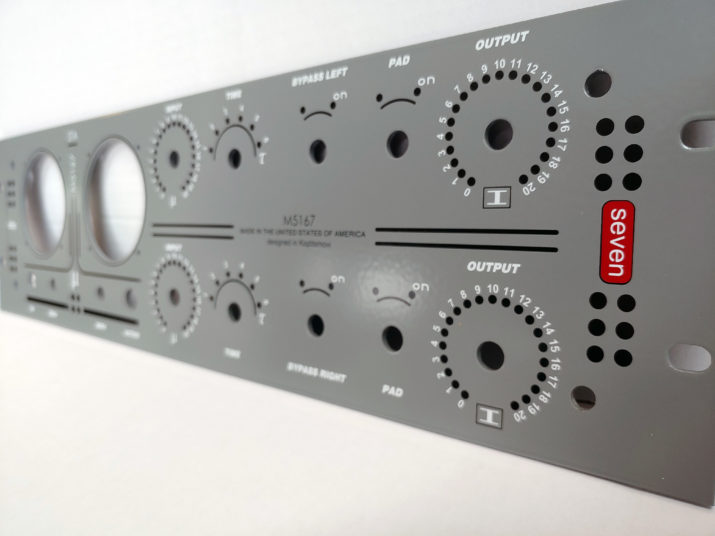 Drip Dual Sta Level front panel